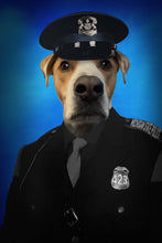 Load image into Gallery viewer, The Police Paw Custom Pet Portrait - Noble Pawtrait