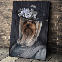 Load image into Gallery viewer, The Mrs. Custom Pet Portrait - Noble Pawtrait