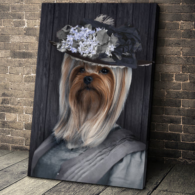 The Mrs. Custom Pet Portrait - Noble Pawtrait