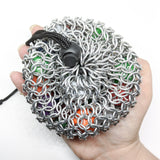 Solid Color Chainmaille Dice Bag - ZenJumps Chainmaille
