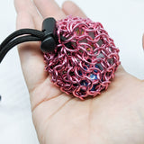 Solid Color Chainmaille Dice Bag - Small - ZenJumps Chainmaille