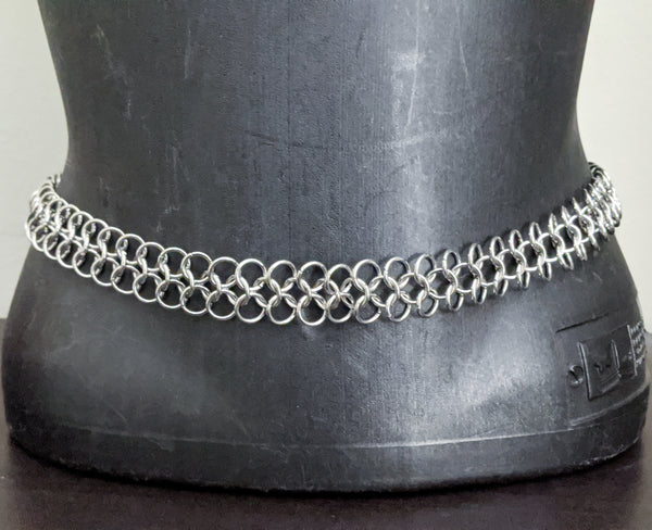 Mesh Chainmaille Belt - ZenJumps Chainmaille