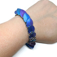 Mermaid Goddess Scalemaille Bracelet - ZenJumps Chainmaille