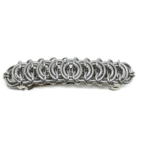 Vertebrae Scalemaille Hair Barrette - ZenJumps Chainmaille