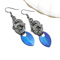 Mermaid Goddess Earrings - ZenJumps Chainmaille