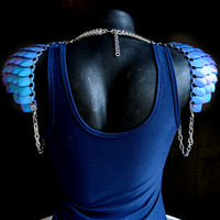 Mermaid Goddess Shoulder Armor - ZenJumps Chainmaille