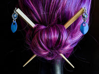 Captured Sphere Hair Sticks - ZenJumps Chainmaille
