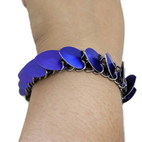 Dragon Scalemaille Bracelet - ZenJumps Chainmaille