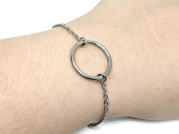 Eternity Circle Bracelet, Large - ZenJumps Chainmaille