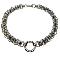 Helm O-ring Choker - ZenJumps Chainmaille