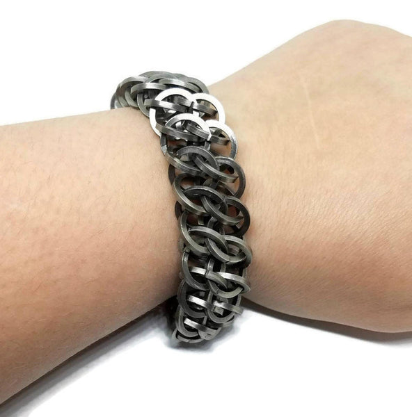 Chunky Square GSG Bracelet - ZenJumps Chainmaille