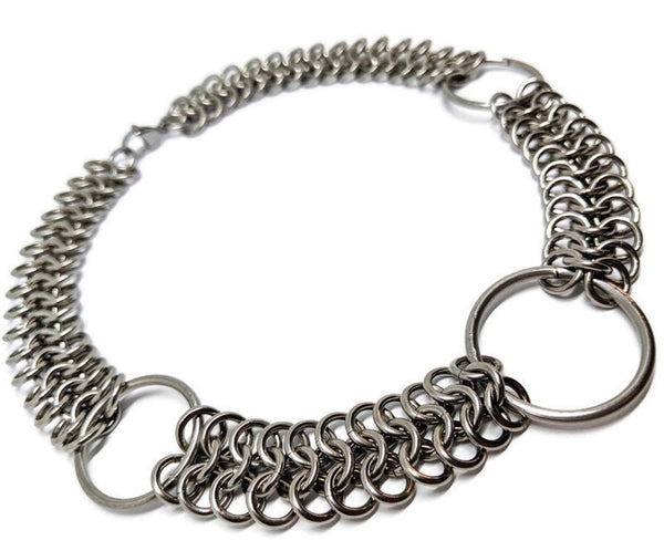 Regal Warrior Chainmaille Choker - ZenJumps Chainmaille
