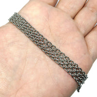 Stainless Steel Chain, 4mm - ZenJumps Chainmaille