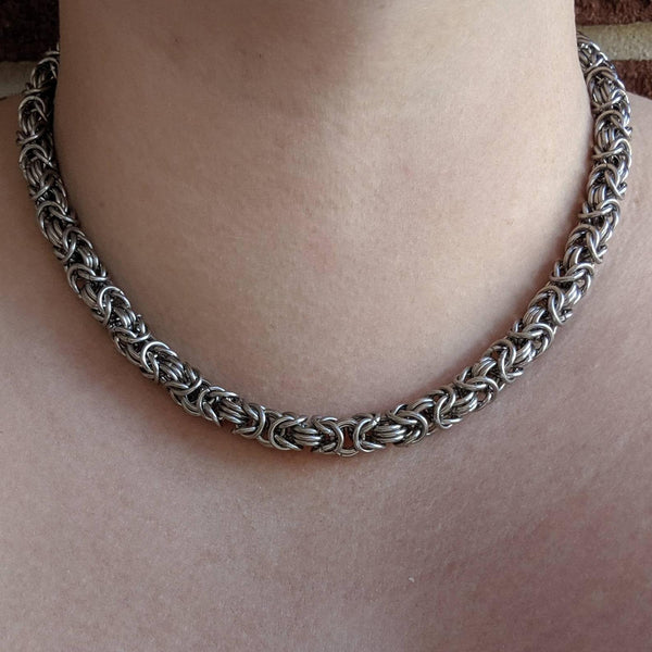 Byzantine Necklace - ZenJumps Chainmaille