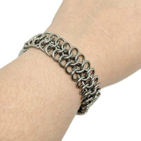 Regal Warrior Mesh Chainmaille Bracelet - ZenJumps Chainmaille