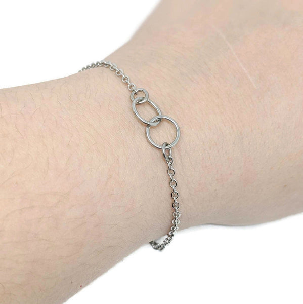 Interlocked Ring Bracelet - Small - ZenJumps Chainmaille