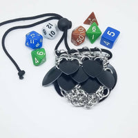 Solid Color Scalemaille Dice Bag - Small - ZenJumps Chainmaille