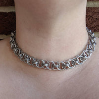 Helm Necklace - ZenJumps Chainmaille