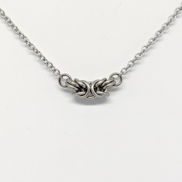 Byzantine Focal Necklace - ZenJumps Chainmaille