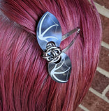 Bat Wing Hair Clip - ZenJumps Chainmaille