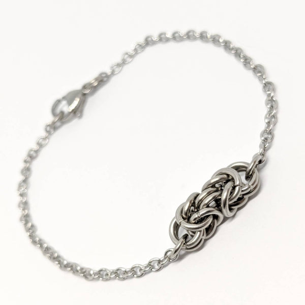 Byzantine Focal Bracelet - ZenJumps Chainmaille