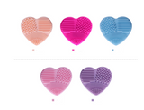 Love Heart Makeup Brush Cleaning Pad