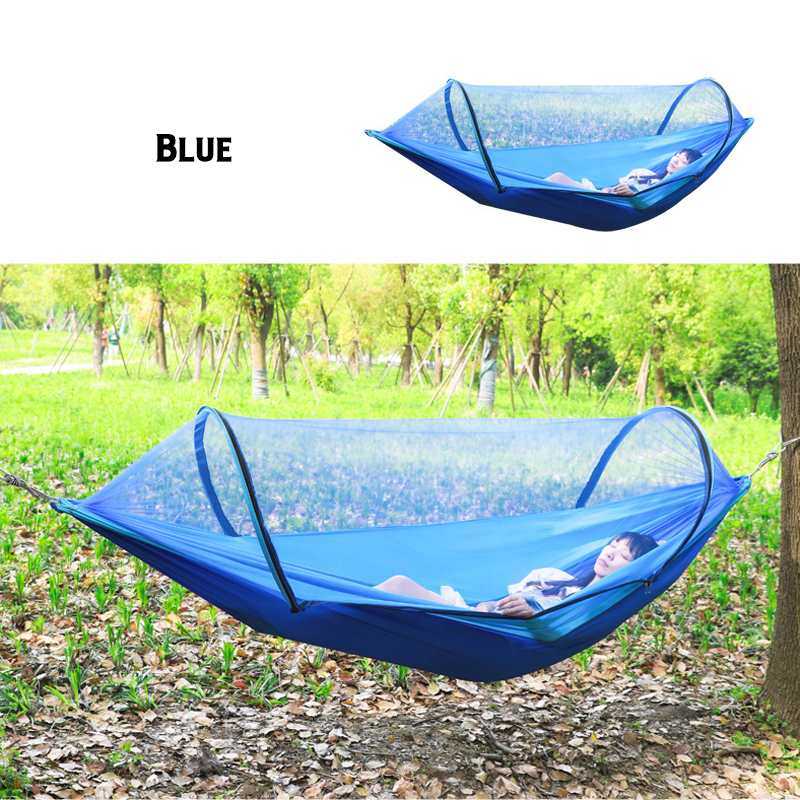 Portable Outdoor Mosquito Net Parachute Hammock Camping