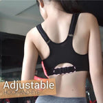 Yoga Adjustable Athletic Zipper Bra