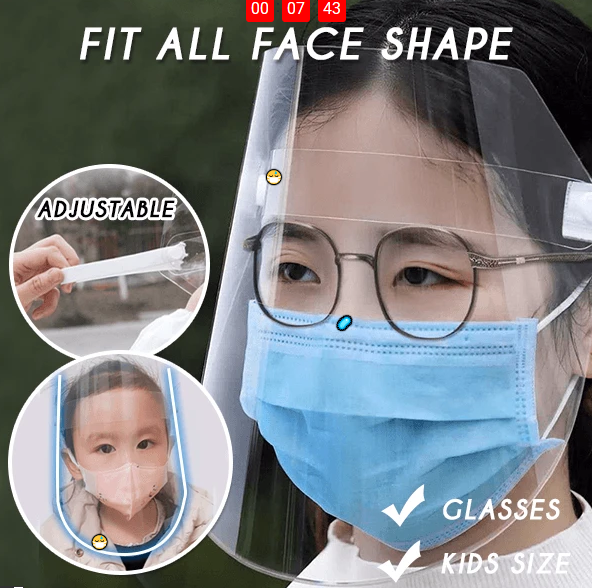 Creative Protective Transparent Face shield