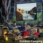 Portable Outdoor 3D HD Projector Big Screen