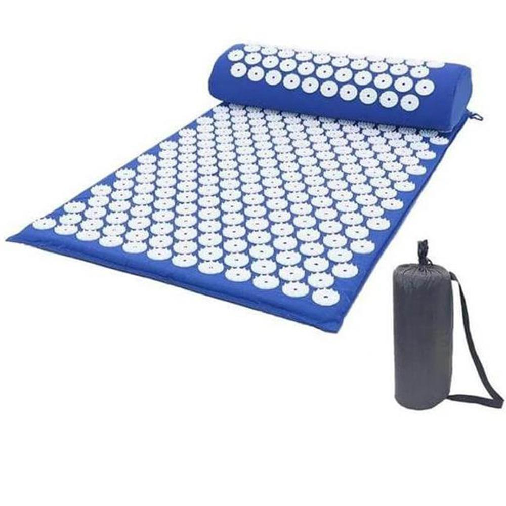LOTUS MAT - Multifunction Yoga Pillow & Pad Acupressure Massager - for Relaxation and Relief Stress