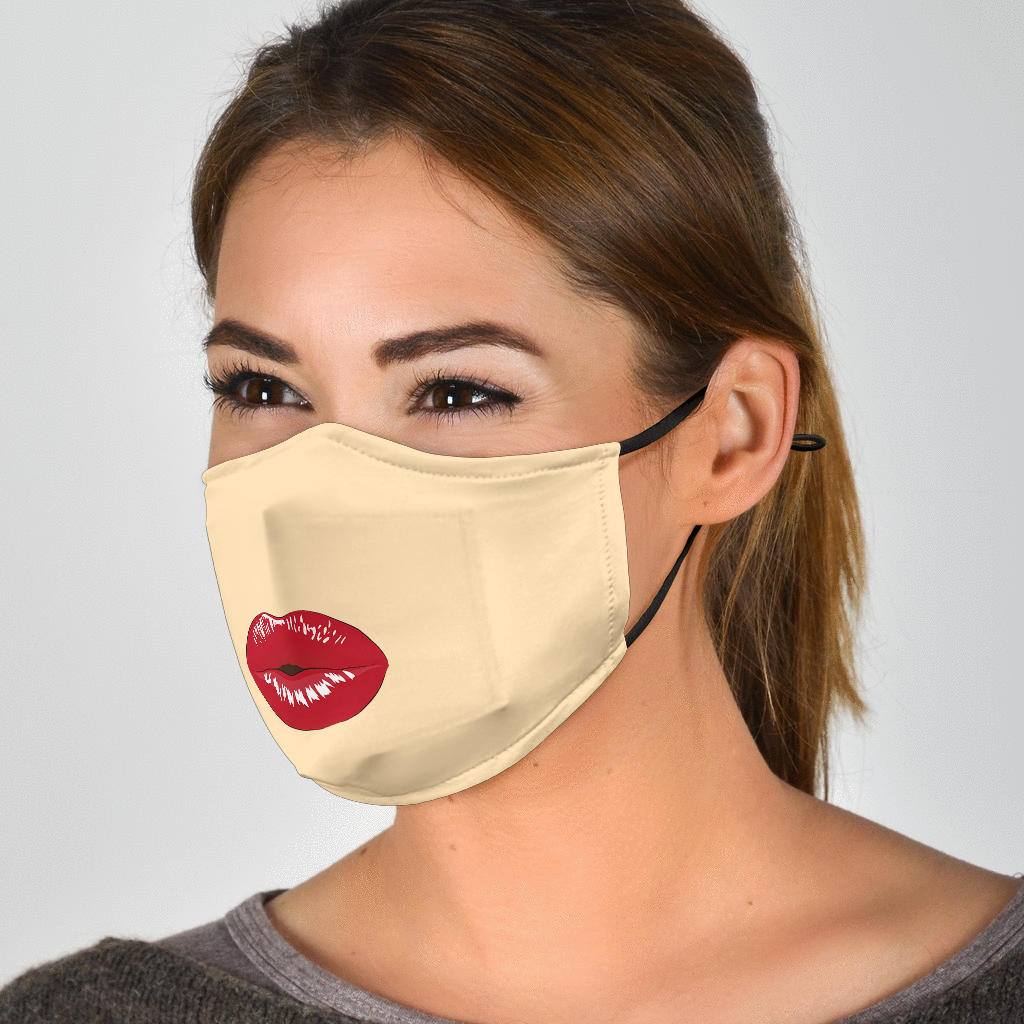Lips Face Mask
