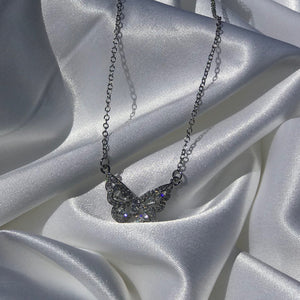 """Enchanted"" Butterfly Necklace - Shop First Class"