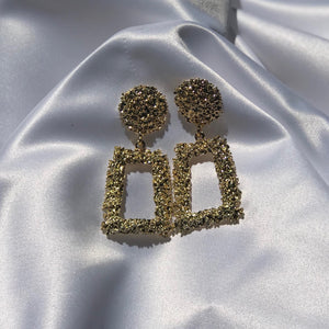 """Lynette"" Statement Earrings - Shop First Class"