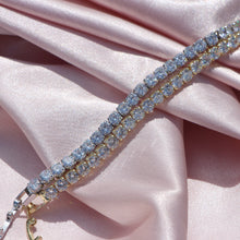 "Load image into Gallery viewer, ""KAY KAY"" diamond tennis bracelet - Shop First Class"