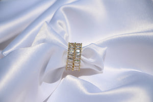 """Melrose"" Square Eternity Band - Shop First Class"