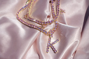 """Princess"" Diamond Necklace - Shop First Class"