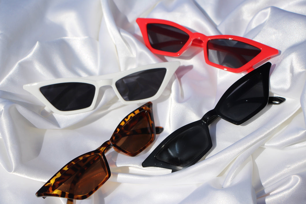"""Aaliyah"" super slim shades - Shop First Class"
