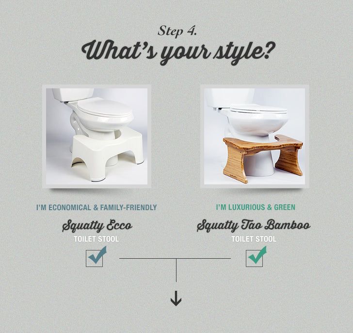Step 4 What's your style?