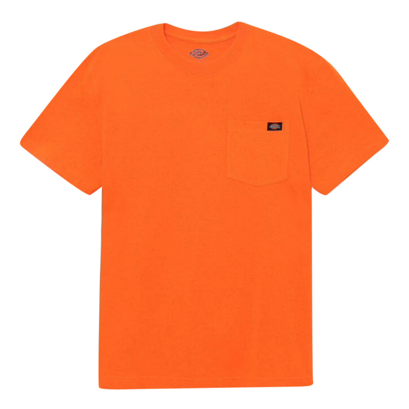 Heavyweight Pocket T-Shirt - Orange