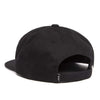 Hydrant Unstructured 6-Panel Hat - Black