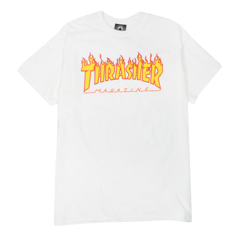 Flame Logo T-Shirt - White