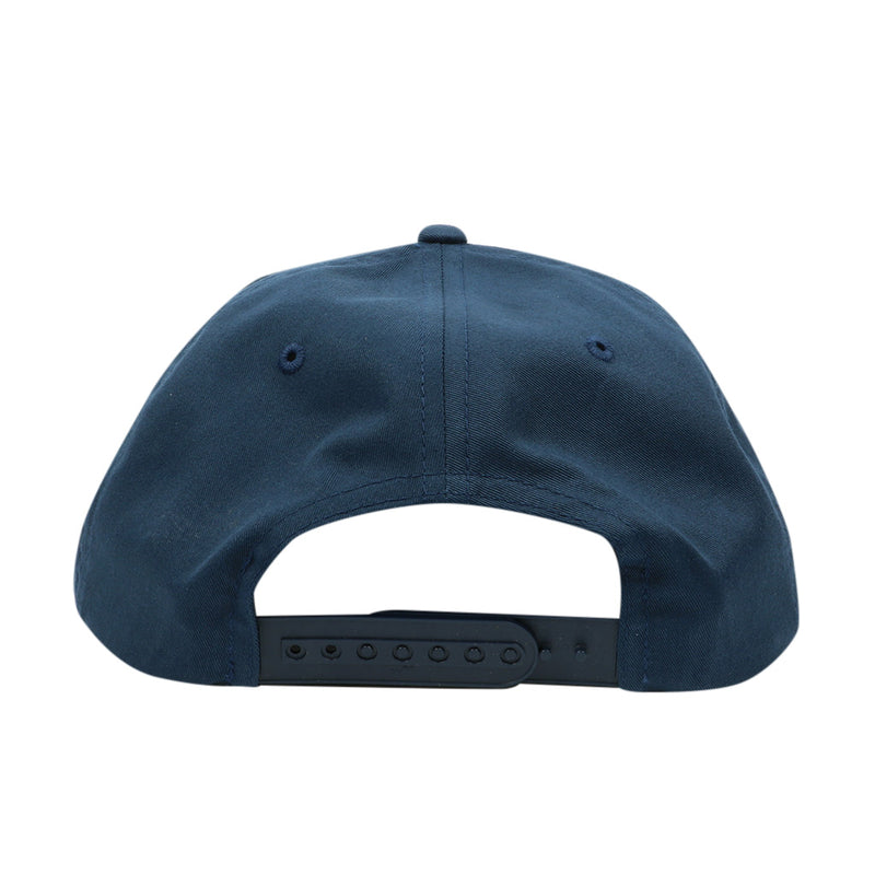Bars Unstructured Snapback - Navy