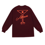 League Player Long Sleeve - Burgundy