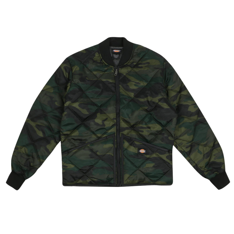 Quilted Nylon Jacket - Camo