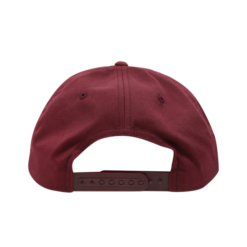 Fade Unstructured Snapback - Burgundy