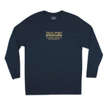 Intersolid Long Sleeve - Navy