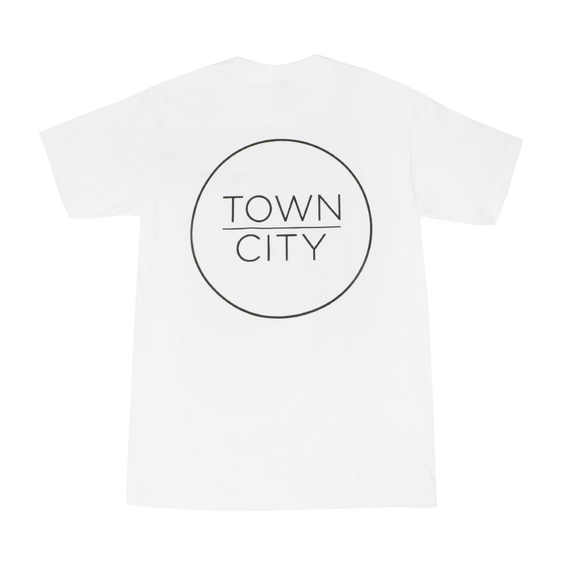 Town City Logo T-Shirt - White - Town City