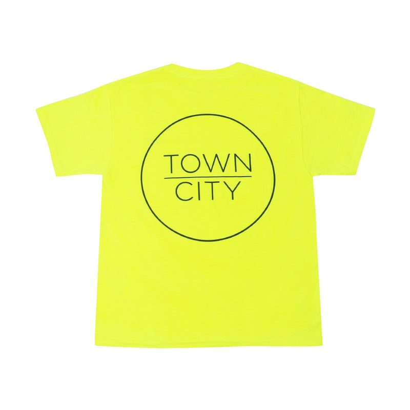 Youth T-Shirt - Safety Green - Town City