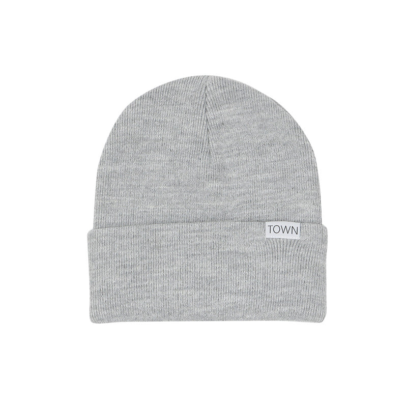 Town City Knit Beanie - Grey - Town City
